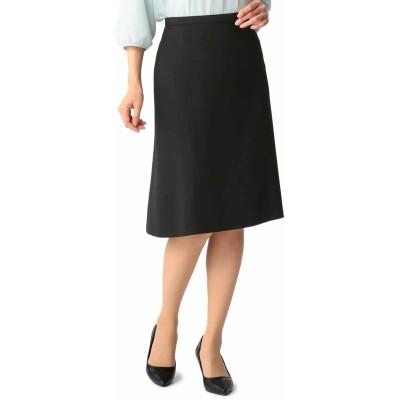 AOKIウーマンスタイル 洗えるセットアップ セミフレアスカート