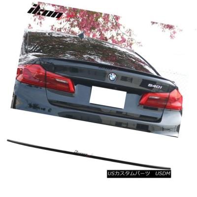 エアロパーツ 17-18 BMW G30セダンM5パフォーマンス・トランク・スポイラー#475ブラック・サファイア・メタリック 17-18 BMW G