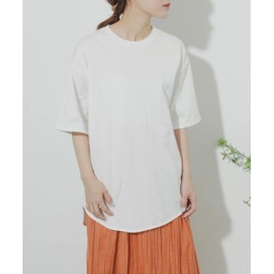 tシャツ Tシャツ 【WEB/一部店舗限定】オーガニックコットンオーバーTシャツ