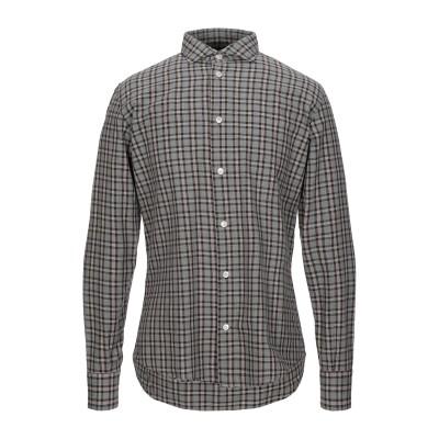 イレブンティ ELEVENTY シャツ 鉛色 40 コットン 100% シャツ