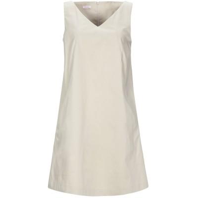 ROSSOPURO ミニワンピース&ドレス ベージュ XS コットン 97% / ポリウレタン 3% ミニワンピース&ドレス
