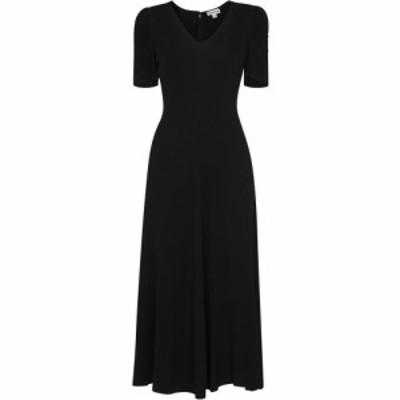 ホイッスルズ Whistles レディース ワンピース ミドル丈 ワンピース・ドレス Jolanta Midi Dress Black