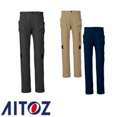 アイトス AZ-7844 ストレッチカーゴパンツ(ノータック)(男女兼用)快適ストレッチ AITOZ 作業服