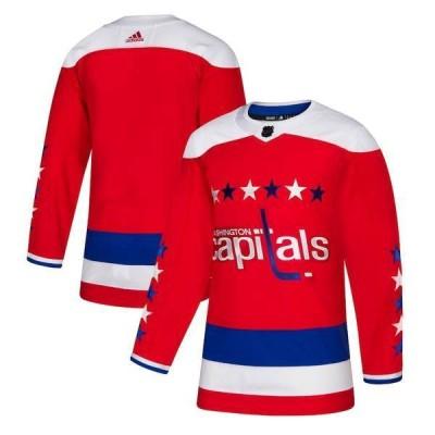 アディダス メンズ Tシャツ トップス Washington Capitals adidas Alternate Authentic Jersey