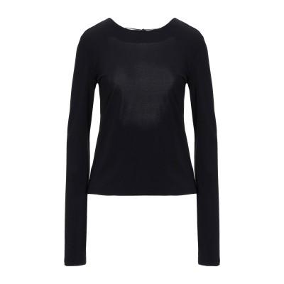 メゾン マルジェラ MAISON MARGIELA T シャツ ブラック 36 アセテート 75% / ナイロン 20% / ポリウレタン 5% T