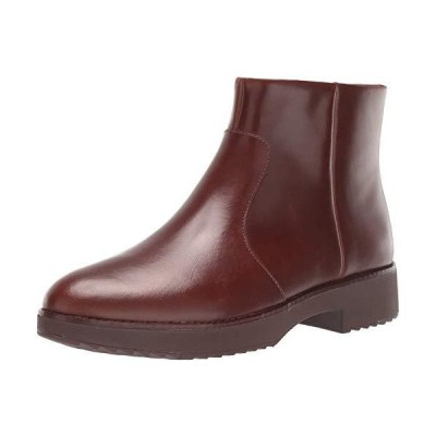 FitFlop Women's Maria Ankle Boots Fashion, Chocolate Brown, 11 M US