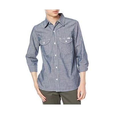 [Lee] ボタンシャツ LCS46004 メンズ ブルー M