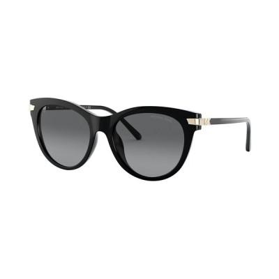 マイケルコース サングラス&アイウェア アクセサリー レディース Women's Polarized Sunglasses, MK2112U Black/Grey Gradient Polar