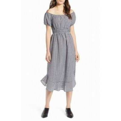 ファッション ドレス Treasure & Bond NEW Black Womens Size Large L Check Print Sheath Dress