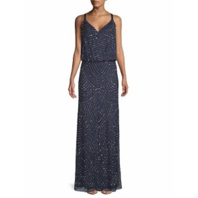 アドリアーナ パペル レディース ワンピース Embellished Blouson Dress