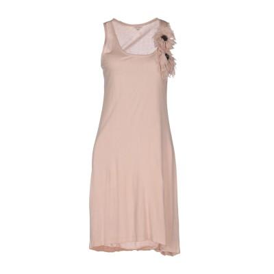 パロッシュ P.A.R.O.S.H. ミニワンピース&ドレス サンド S シルク 100% / レーヨン ミニワンピース&ドレス