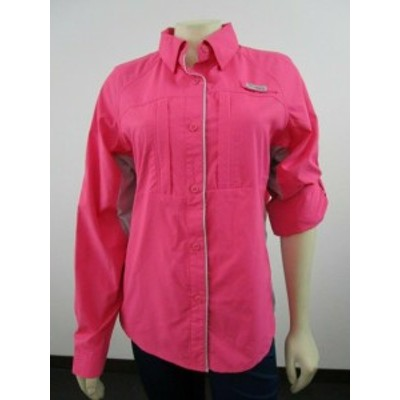 columbia コロンビア スポーツ用品  NWT Womens M Columbia PFG Ultimate Catch Zero II Long Sleeve Hiking Shirt - Pink