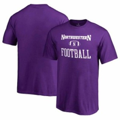 Fanatics Branded ファナティクス ブランド スポーツ用品  Fanatics Branded Northwestern Wildcats Youth Purple Neutral Zone T-Shirt