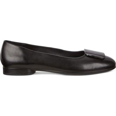 エコー Ecco レディース スリッポン・フラット シューズ・靴 Anine Ballerina BLACK