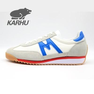 KARHU KH805027 CHAMPIONAIR WHITE - TWILIGHT BLUE  /  カルフ スニーカー チャンピオンエア 白青