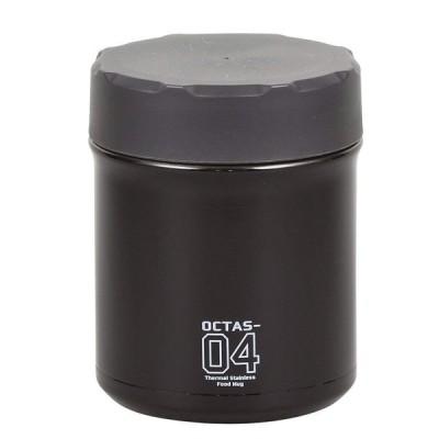 保温弁当箱 スープジャー オクタス フードマグ400 グレー HB-3772 保温 保冷 ランチジャー おしゃれ パール金属