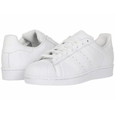 アディダス メンズ スニーカー シューズ Superstar Foundation White/White