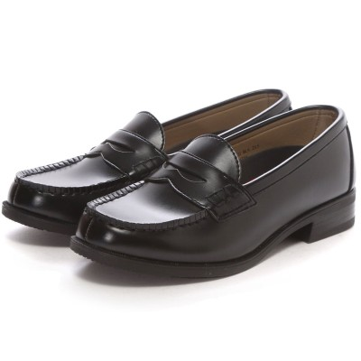 SHOE・PLAZA セダークレスト CEDAR CREST ウォッシャブル(ブラック)/ローファー/学生靴