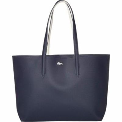 ラコステ Lacoste レディース トートバッグ バッグ Anna Large Reversible Shopping Bag Clay/Pink Madras/Archipelago/Antirrhinum/Pass