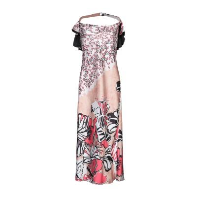CRISTINAEFFE ロングワンピース&ドレス ベージュ 40 ポリエステル 100% ロングワンピース&ドレス
