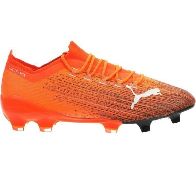 プーマ シューズ メンズ サッカー PUMA Ultra 1.1 FG Soccer Cleats Orange/Black