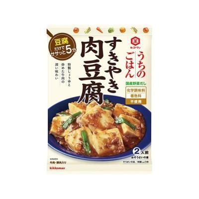 [キッコーマン]うちのごはん すきやき肉豆腐 140g