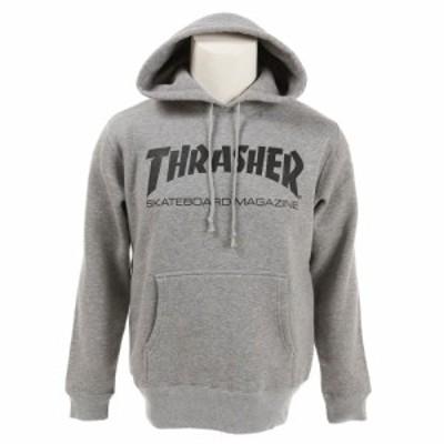 スラッシャー(THRASHER)MAG ロゴスウェットパーカー TH8501GY オンライン価格(Men's)