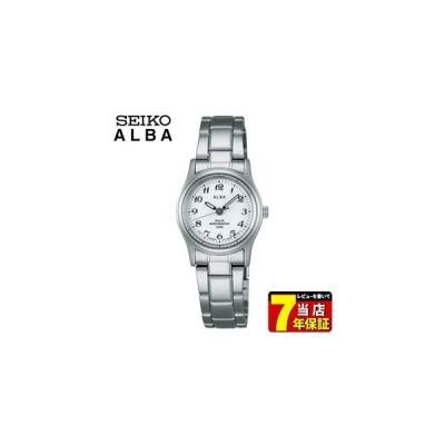ポイント最大8倍 SEIKO セイコー ALBA アルバ ソーラー AEFD539 メンズ 腕時計 時計 国内正規品 ホワイト シルバー カレンダー シンプル ビジネス メタル