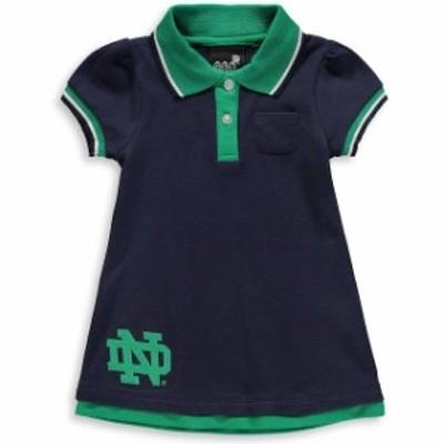 Outerstuff アウタースタッフ スポーツ用品  Notre Dame Fighting Irish Girls Toddler Navy Lil Cheer Coach Polo Dress