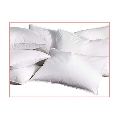 The Ritz-Carlton Down Pillow - Pure White Duck Down, 100% Cotton Cover - Queen Size【並行輸入品】