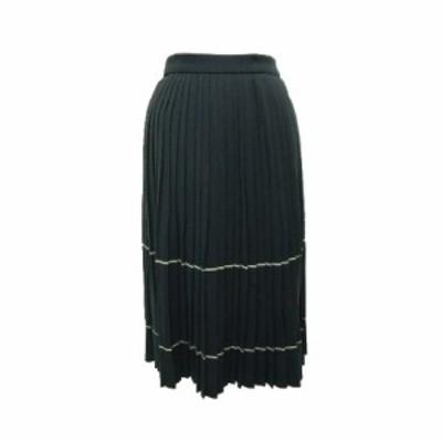 barbara age クラシックプリーツニットスカート (Classic pleats knit skirt) バーバラ エイジ bui 061893【中古】