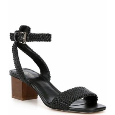 マイケルコース レディース サンダル シューズ MICHAEL Michael Kors Petra Woven Leather Dress Sandals Black