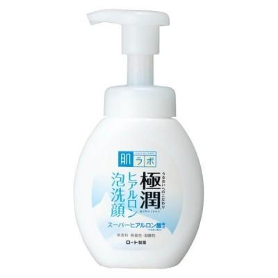 ロート製薬肌ラボ 極潤 ヒアルロン泡洗顔 160mL 洗顔料 保湿 ワセリン配合 ロート製薬