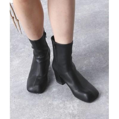 JEANASIS / オブリークトゥストレッチブーツ/956535 WOMEN シューズ > ブーツ