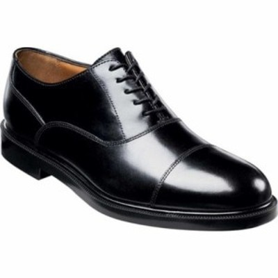 フローシャイム 革靴・ビジネスシューズ Dailey Global Black Leather