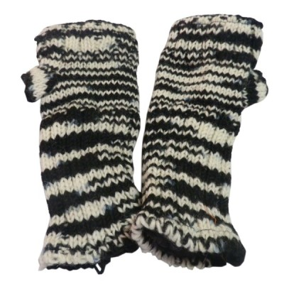 手袋 アジアン衣料 ネパール・ウール・アームウオーマー 3  クリックポスト選択 送料200円