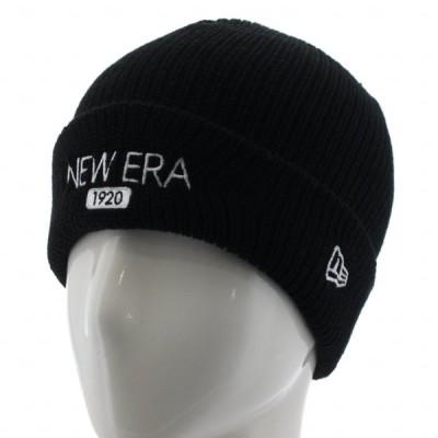 ニューエラ ニット帽 ソフト カフニット New Era 1920 12540469 帽子 : ブラック NEW ERA