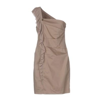ONLY 4 STYLISH GIRLS by PATRIZIA PEPE ミニワンピース&ドレス カーキ 40 コットン 65% / ナイロン 3