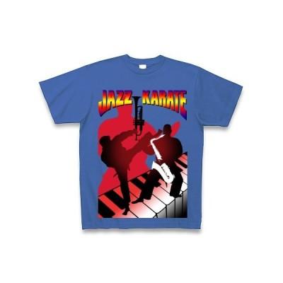 日常より ジャズカラテ Tシャツ Pure Color Print(サムライブルー)