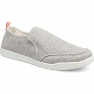 バイオニック VIONIC レディース スリッポン・フラット スニーカー シューズ・靴 Slip-On Sneaker Light Grey Fabric