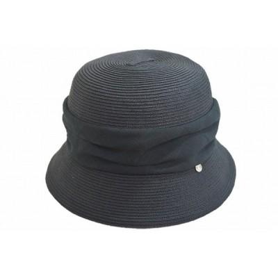 ペーパーハット 1st edition 825143 ブラック 黒 帽子 レディース 婦人 ハット 小つば 紫外線対策 UVケア ファッション プレゼント ネット通販 春夏
