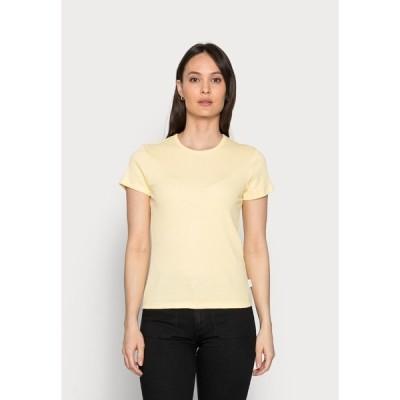 マルコポーロ デニム Tシャツ レディース トップス Basic T-shirt - sunlight