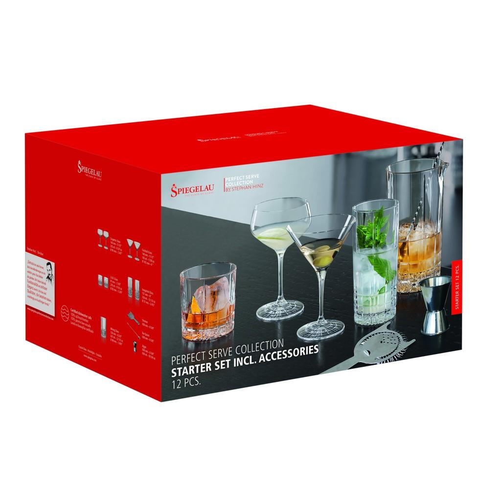 【德國Spiegelau】 Perfect Serve 調酒組合(12件入)《WUZ屋子》調酒  酒杯 品牌餐廚