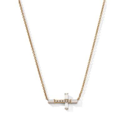 ナドリ レディース ネックレス・チョーカー・ペンダントトップ アクセサリー Side Cross Necklace