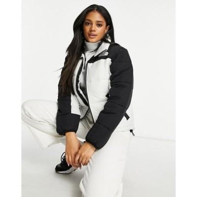 ノースフェイス レディース ジャケット・ブルゾン アウター The North Face Himalayan insulation jacket in white