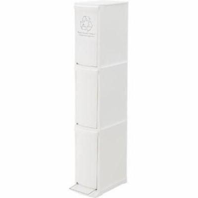ゴミ箱 ごみ箱 ダストボックス キッチン リビング おしゃれ カフェ スリム 20L 分別 ホワイト 白 30リットル ペダル 30l 30 ふた付き 蓋