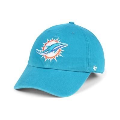 47ブランド メンズ 帽子 アクセサリー Miami Dolphins CLEAN UP Cap