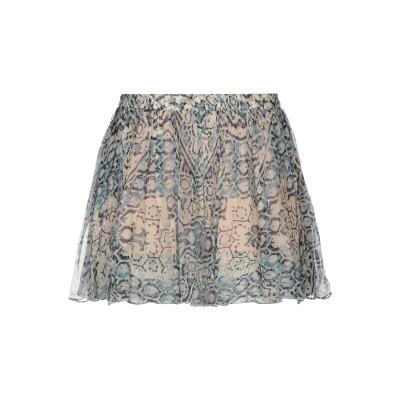 MES DEMOISELLES ミニスカート ブルー 36 レーヨン 100% ミニスカート