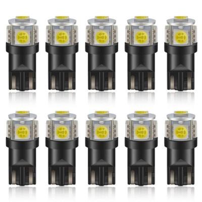 Safego 194 LED Bulb Light Bulb 168 T10 W5W 6000K White Super Bright 5-