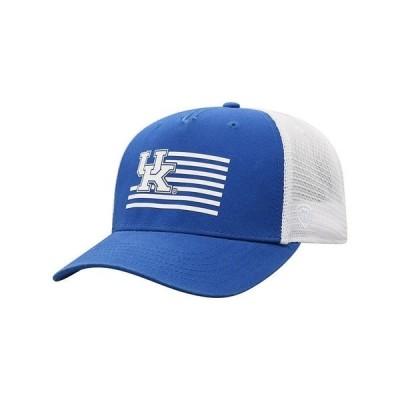トップ・オブ・ザ・ワールド 帽子 アクセサリー メンズ Kentucky Wildcats Here Trucker Cap RoyalBlue/White
